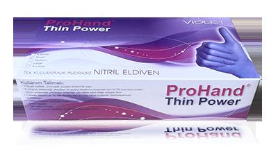 tek kullanımlık eldiven thin power