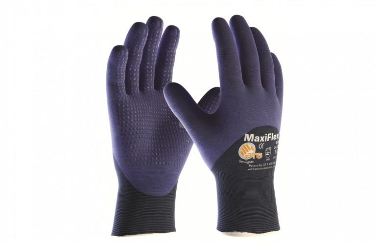 Atg MaxiFlex® Elite™ 34-245 3/4 Dipped İş Eldiveni