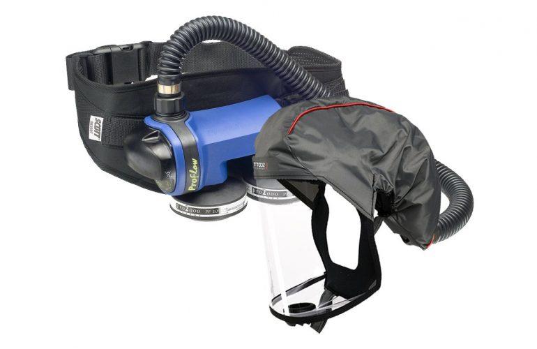 SCOTT FH1 + Proflow SC160 Motorlu Hava Beslemeli Solunum Seti