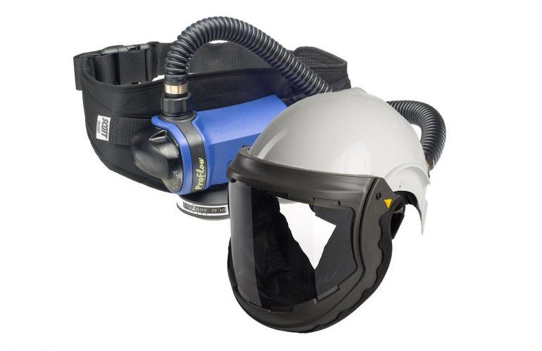 SCOTT FH6 + Proflow SC160 Motorlu Hava Beslemeli Solunum Seti