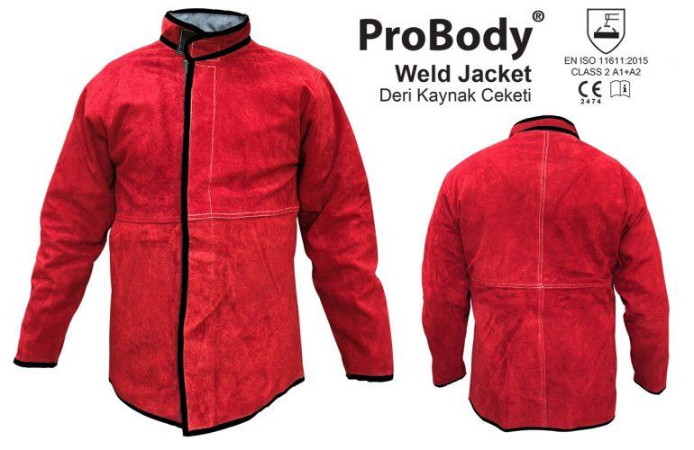 Deri Kaynak Ceketi ProBody®