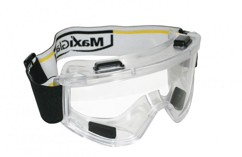 MaxiGlass® 100 Tam Kapalı Goggle Gözlük