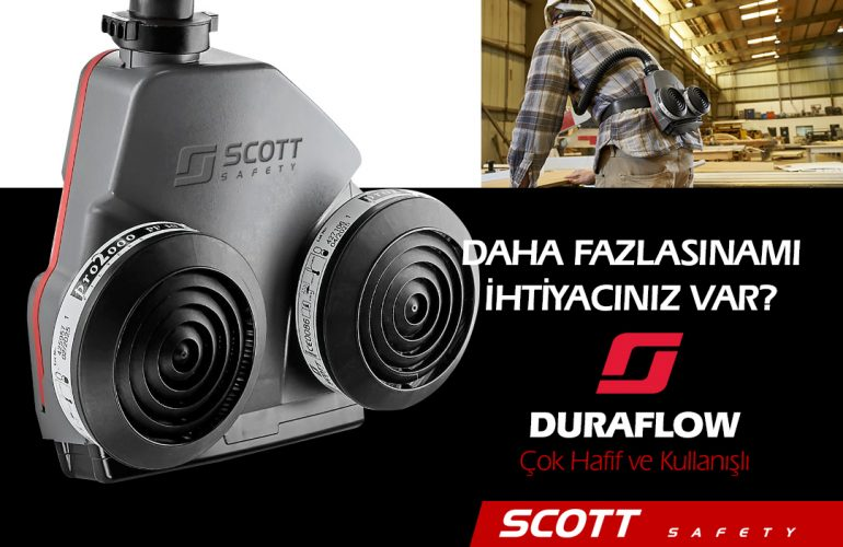 SCOTT Duraflow Motorlu Solunum Bel Ünitesi