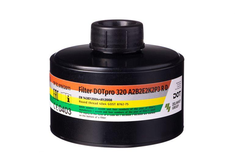 DOTpro 320 A2В2Е2K2Р3 R D Filtre