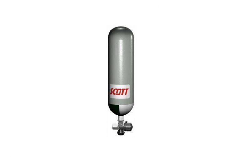SCOTT CYL-1640 Çelik Temiz Hava Solunum Tüpü (6 Litre, 300 Bar)