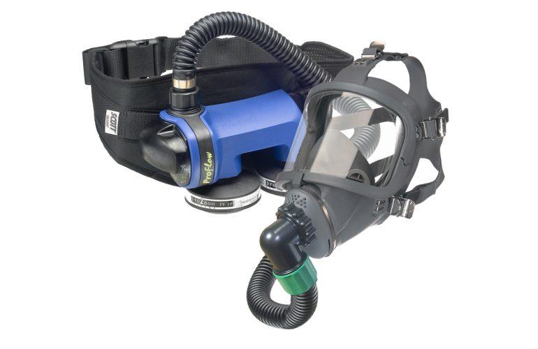 SCOTT FM2 SARI + Proflow SC160 Motorlu Hava Beslemeli Solunum Seti
