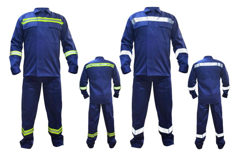 ProWeld 100RF-102RF Reflektörlü Isı, Alev ve Kaynak Sıçramalarına Karşı Koruyucu Elbise