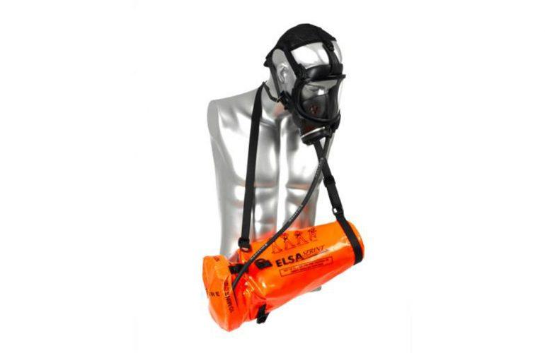SCOTT ELSA SPRINT Tam Yüz Maskeli Temiz Hava Tüplü Acil Kaçış Setleri