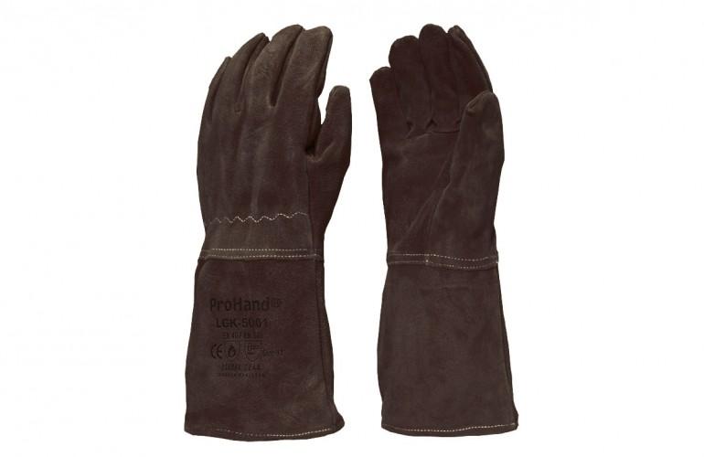 ProHand® LGK-5001 Kahverengi Kaynakçı Eldiveni