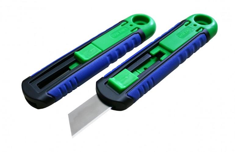 Maxi Knife 100 Otomatik Yay Mekanizmalı Emniyetli Bıçak
