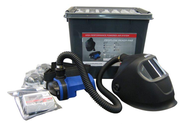 SCOTT Motorlu Hava Beslemeli Kaynak Seti FH4+Proflow SC160