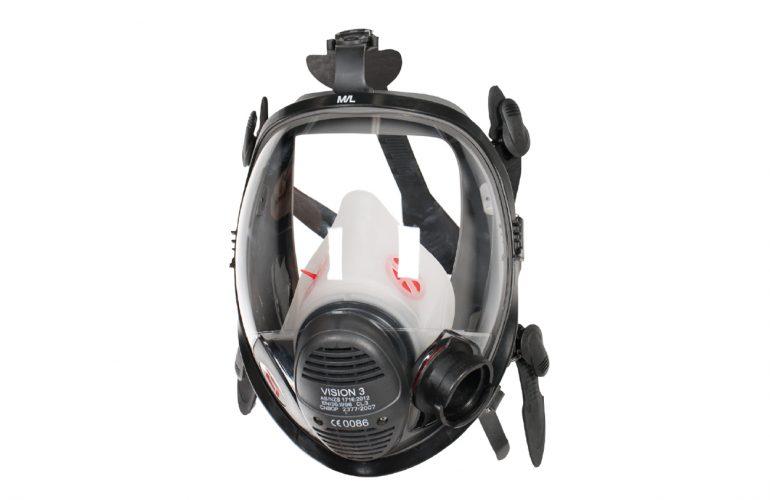SCOTT Vision 3 PP LQF Pozitif Basınçlı Tam Yüz Maskesi