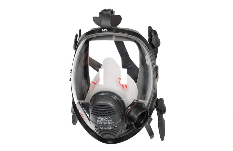 SCOTT Vision 3 PP LQF Pozitif Basınç Tam Yüz Maskesi