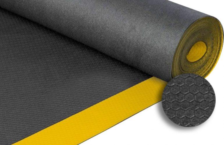 İzole Halı Sarı/Siyah