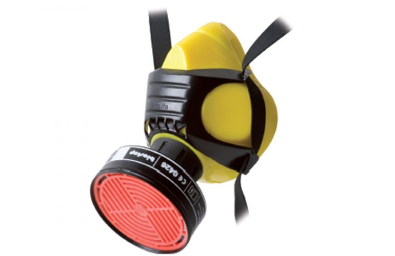PoliMask Alfa Silikon Yarım Yüz Solunum Maskesi