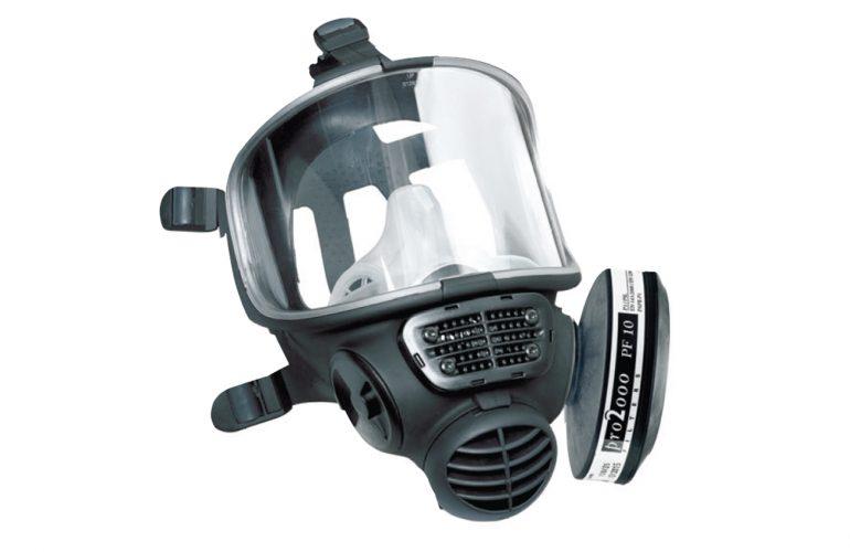 SCOTT Promask Black Tam Yüz Solunum Maskesi