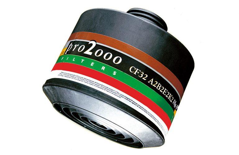 SCOTT Pro2000 A2B2E2K2 Hg P3 R Filtre
